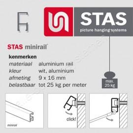 STAS minirail 200cm