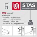 STAS minirail combikap