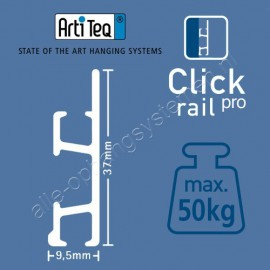 Artiteq hoekverbinder click rail pro