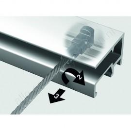 Newly 2mm Steel Twister Wire