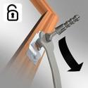 Sleutel voor anti-diefstalset voor houten & alu lijsten