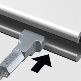 Artiteq Micro Perlon Wire with Twister - 1mm (i.c.w. Micro Hook)