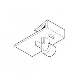 AOS Plafondklem met Oog wit - 22-51mm