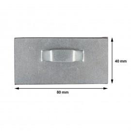 Euro Schroefduim met kruisgleuf - 40x5.25mm