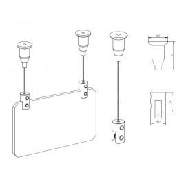 AOS Plafondnok Kabelsysteem - 8kg
