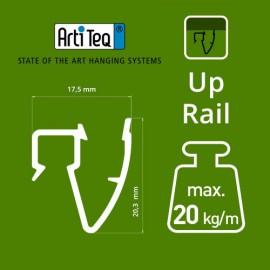 Artiteq Top Rail - 200cm - 20kg - 3 kleuren