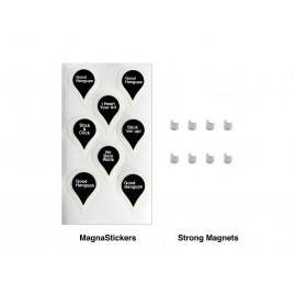 Artiteq Infostrip - 100cm (incl. 6 magneetjes)
