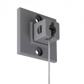 Stas Qubic Pro Hanger Set incl. 200cm wire, End Cap, screw and plug
