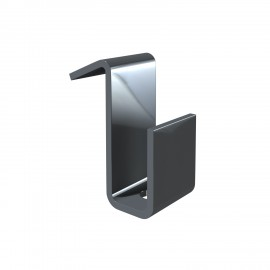 Interfinish partition wall hook 4kg - 20x8x10x11mm