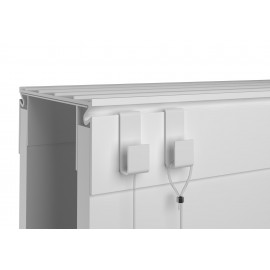 Interfinish partition wall hook 4kg - 25x8x10x11mm