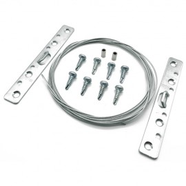 GeckoTeq steel wire set for Picture Frame hanging 8