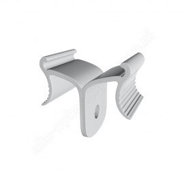 GeckoTeq Ceiling clip White Plastic - 5kg