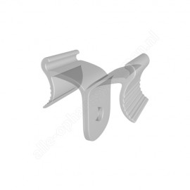 GeckoTeq Ceiling clip Clear Plastic - 5kg