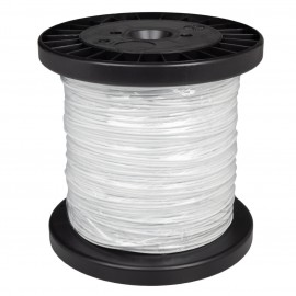 Steel Picture Wire 1,5mm in white - per 1 meter