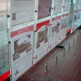 Artiteq display 2mm verticaal