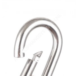 Carabiner Locking Snap Hook with safety function