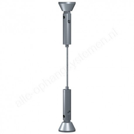 Artiteq set staaldraad 1.8mm - 400cm vast voor e-clip
