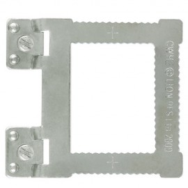 GeckoTeq Screw-in Hangers for aluminium frames – per each