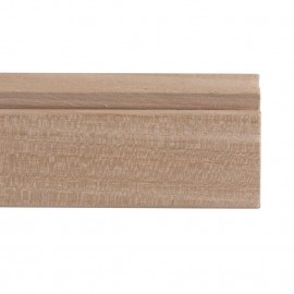 STAS Riva All Wooden Gallery Wall Picture Rail 200cm