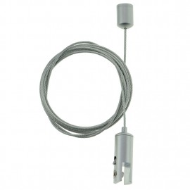 GeckoTeq Ceiling Cam Cable System with Self-locking Clamp 6 mm - 10kg