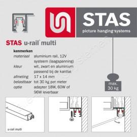 STAS U-Rail multi 200cm