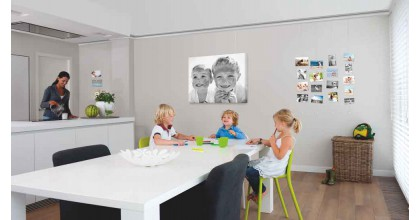 At Home – A Picture hanging systems is the best way to hang your pictures